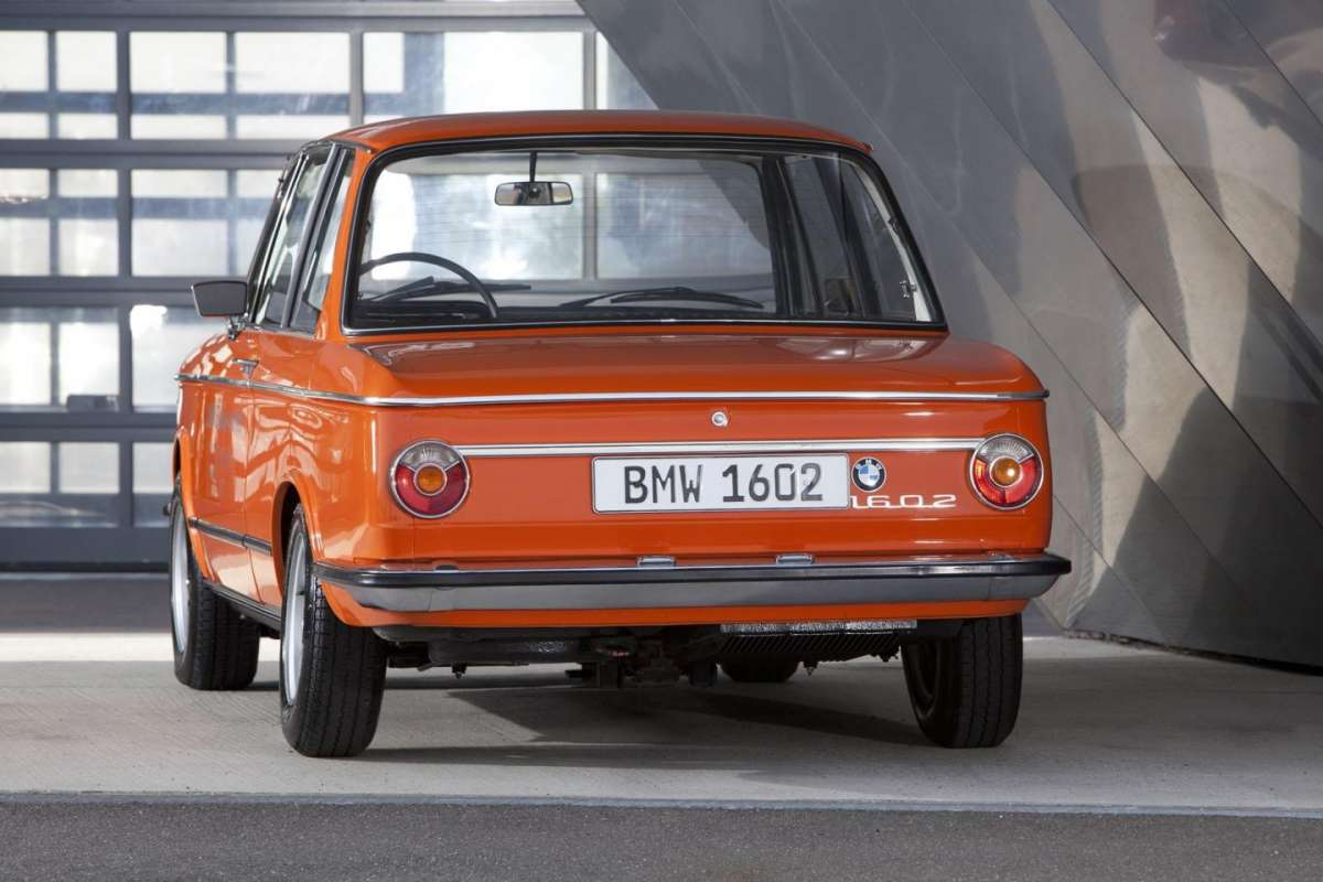 BMW 1602 Electric coda