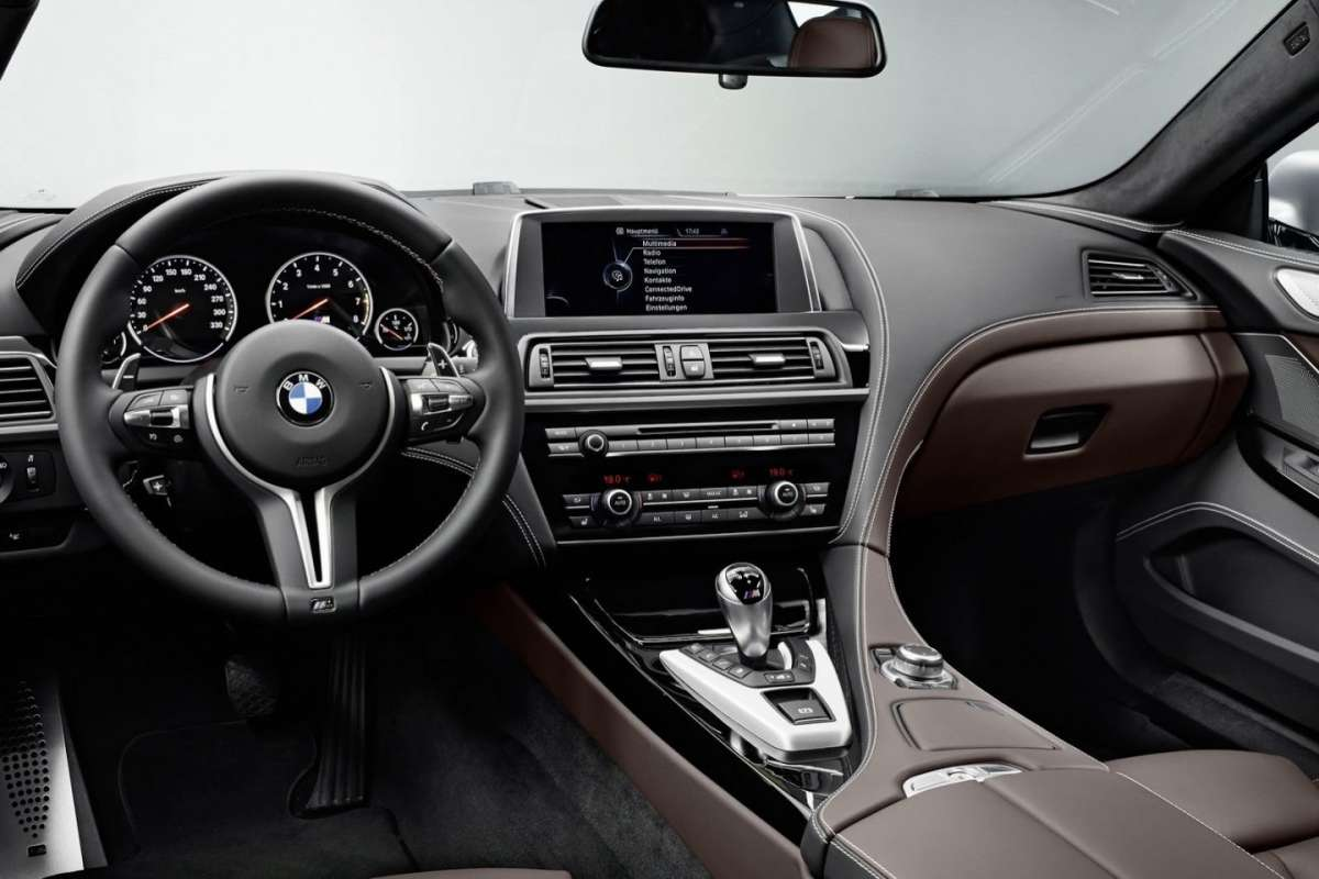BMW M6 Gran Coupé interni