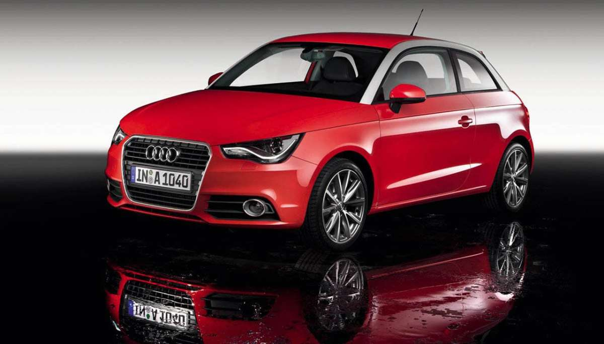 Audi A1 frontale