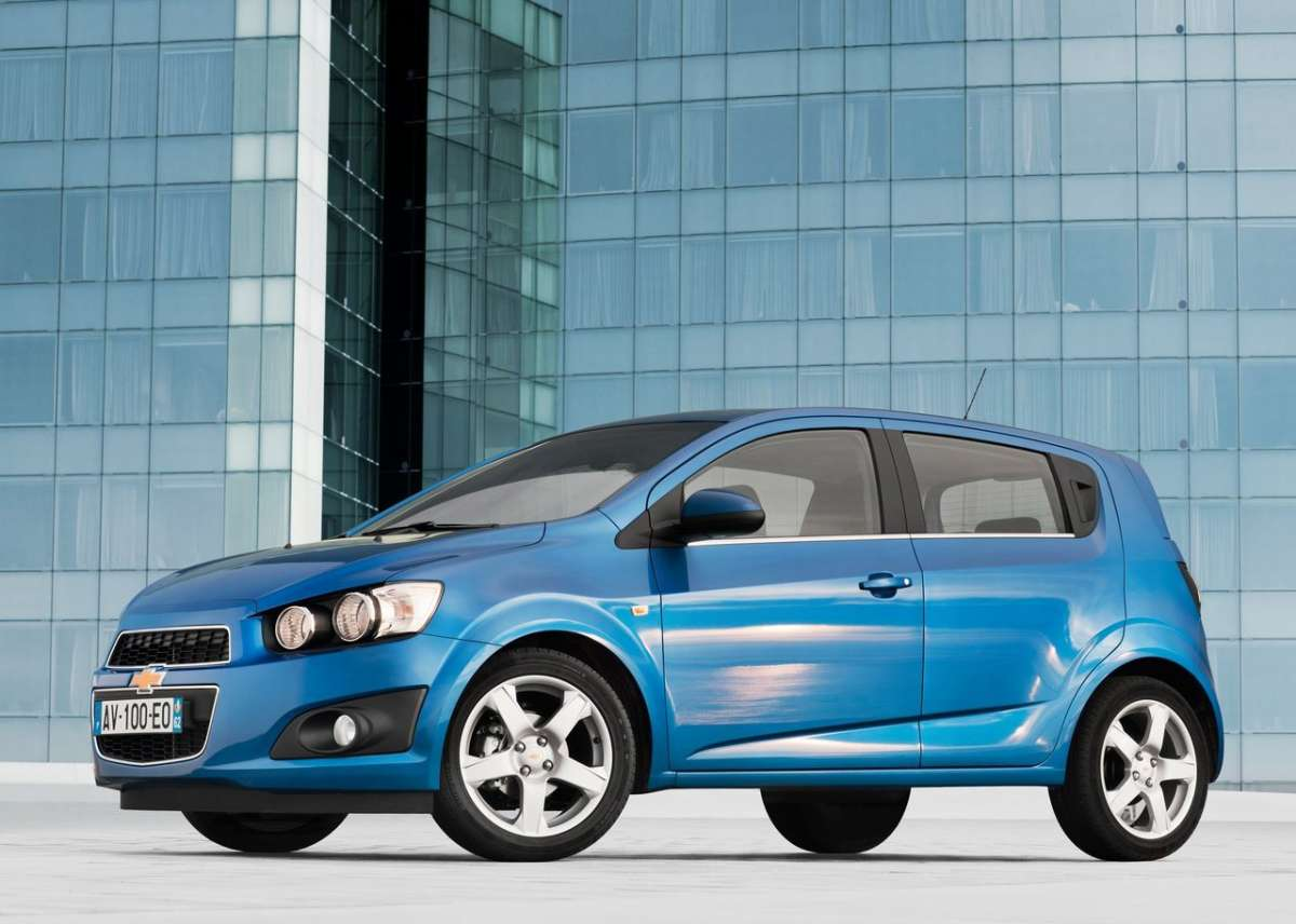 Chevrolet Aveo laterale