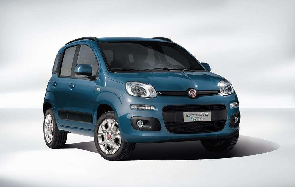 Nuova Fiat Panda 2012 Natural Power anteriore