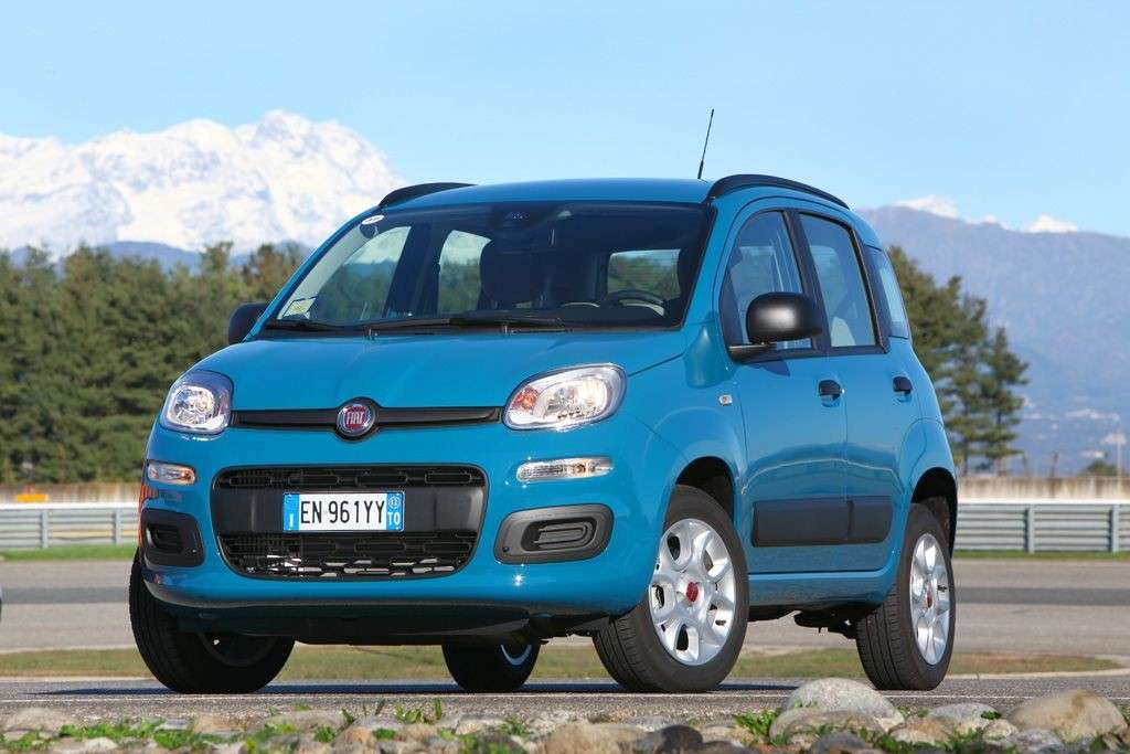Nuova Fiat Panda 2012 Natural Power muso