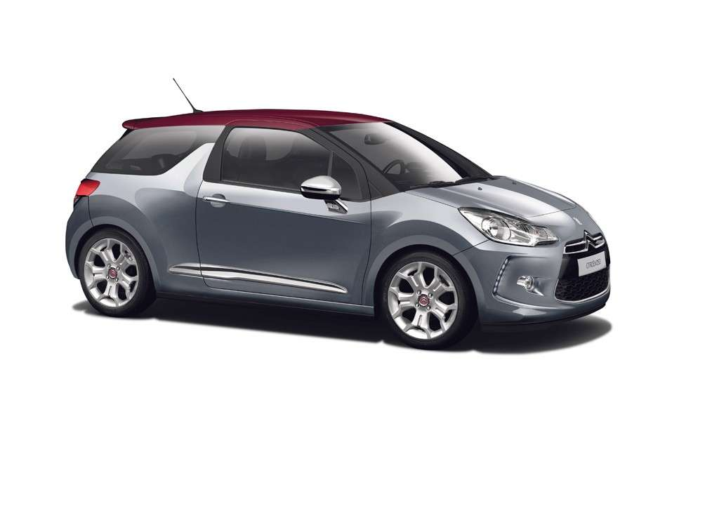 Citroen DS3 laterale anteriore