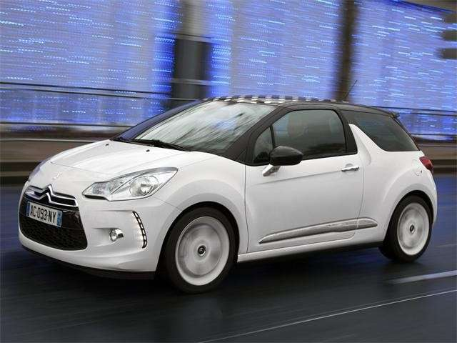 Citroen DS3 bianca