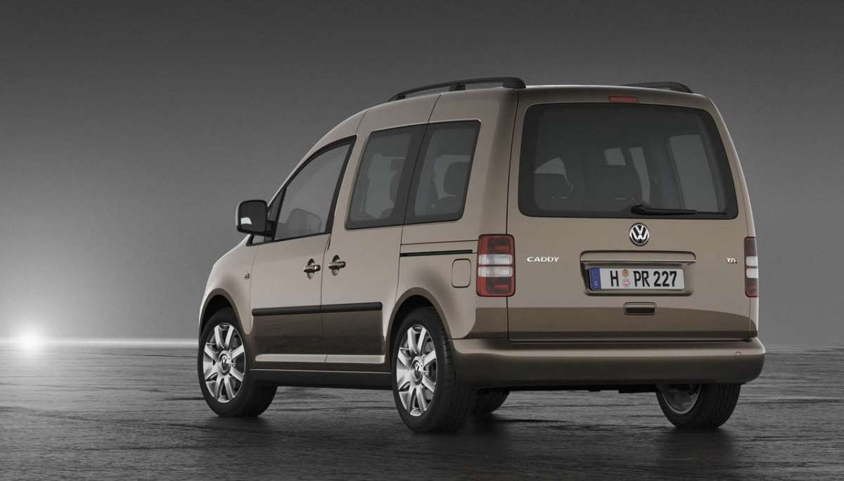 Volkswagen Caddy 2011 coda