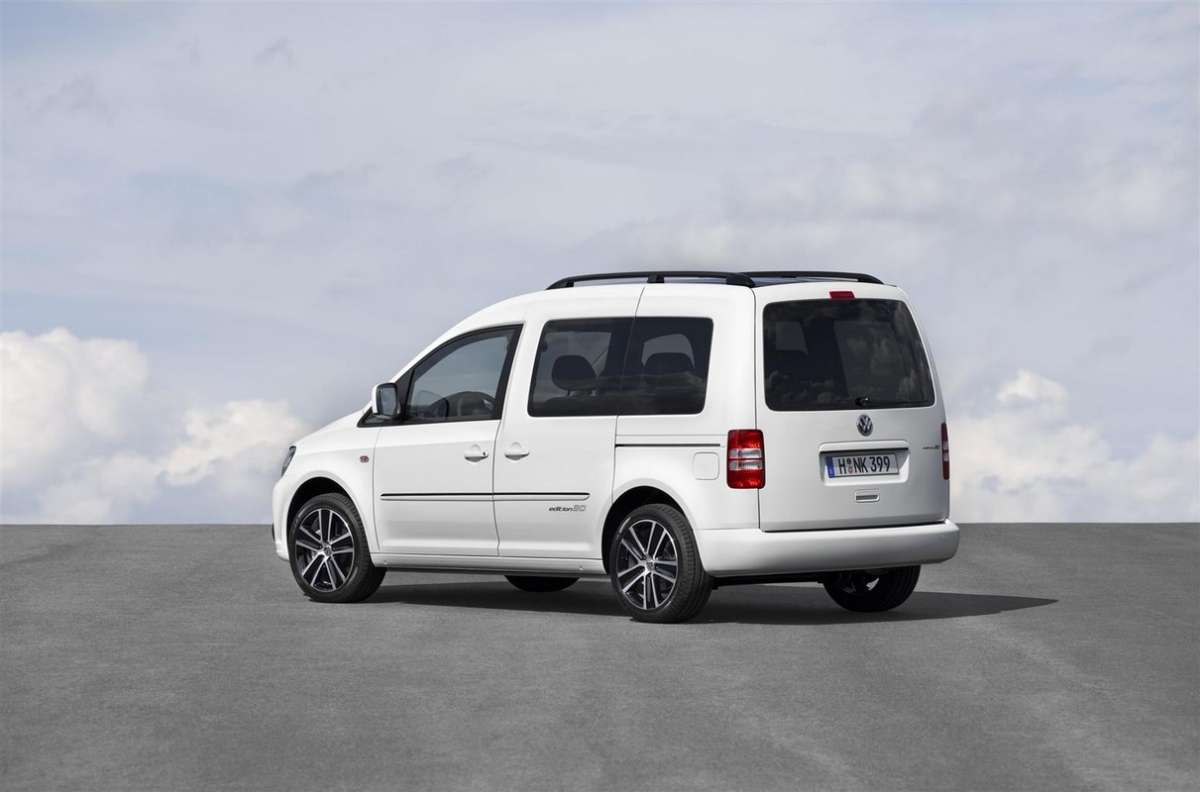 Volkswagen Caddy Edition 30 posteriore
