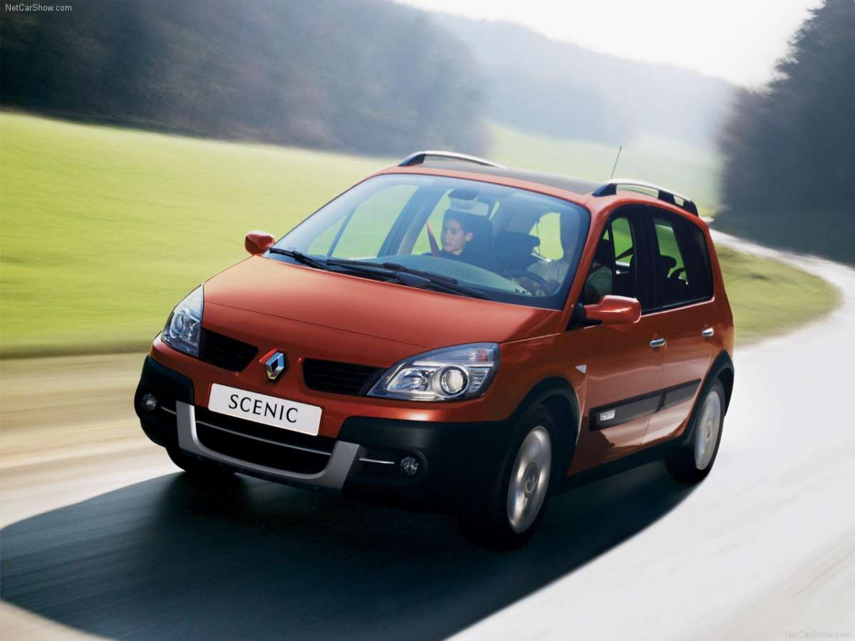 Renault Scenic Conquest frontale