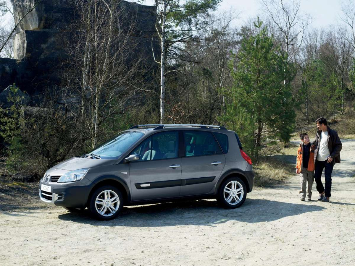 Renault Scenic Conquest laterale