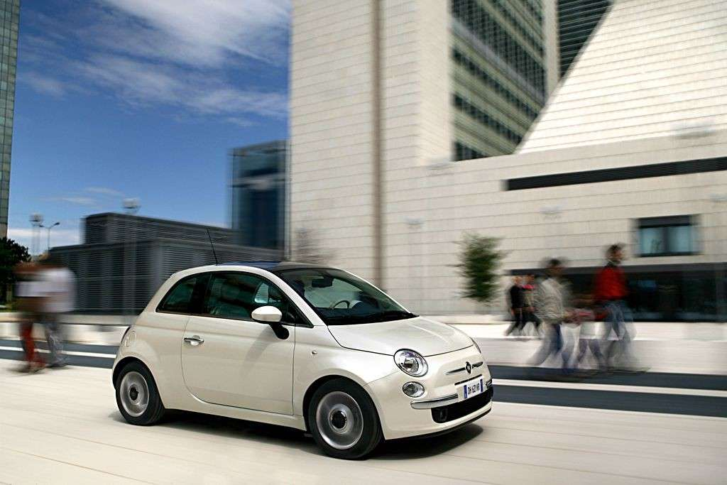 Fiat 500 2007 laterale