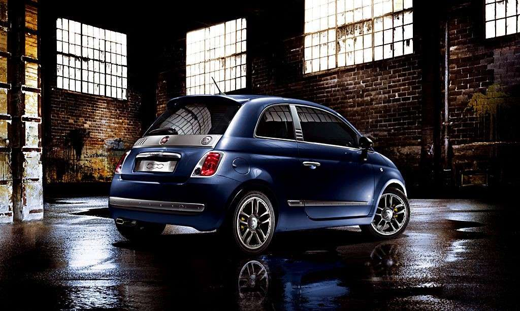 Fiat 500 by Diesel posteriore