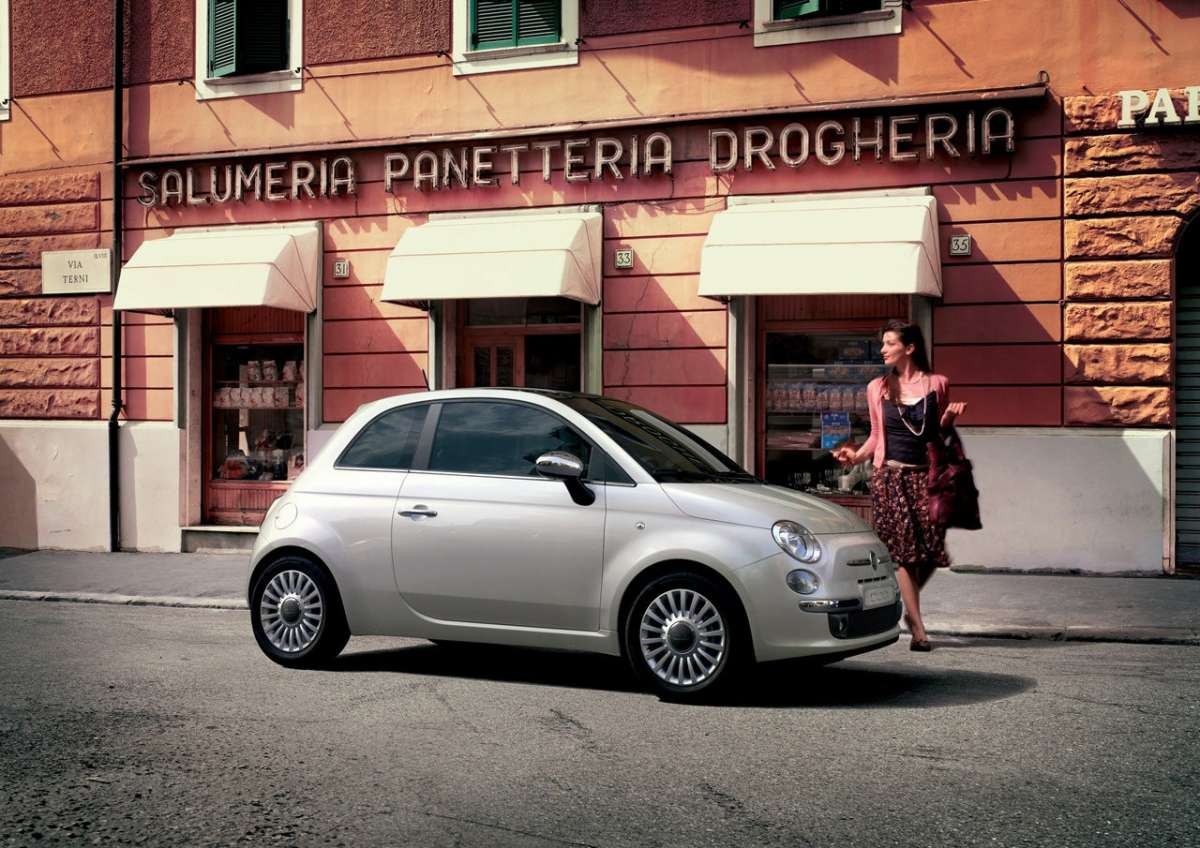 Fiat 500 laterale 4