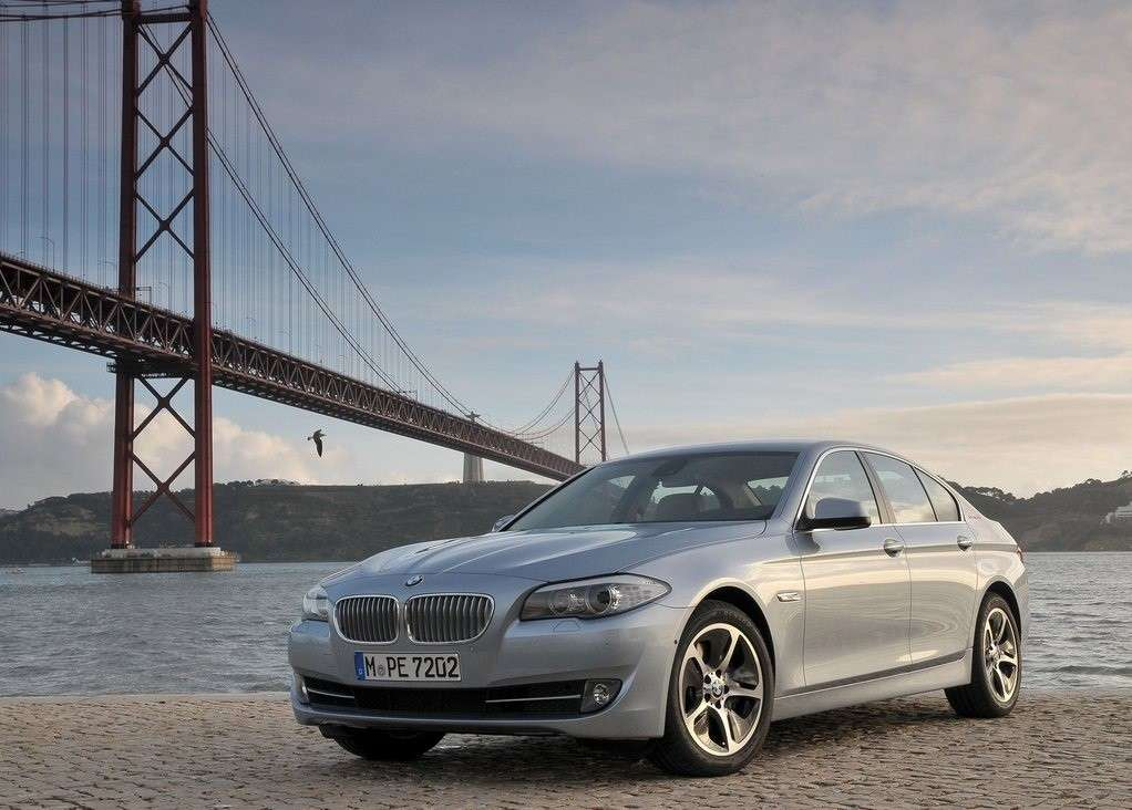 Bmw Active Hybrid 5, frontale
