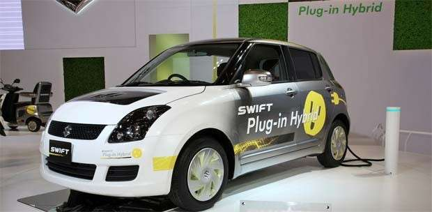 Suzuki Swift plug-in hybrid 2013