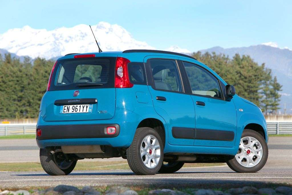 Fiat Panda 2012 Natural Power posteriore
