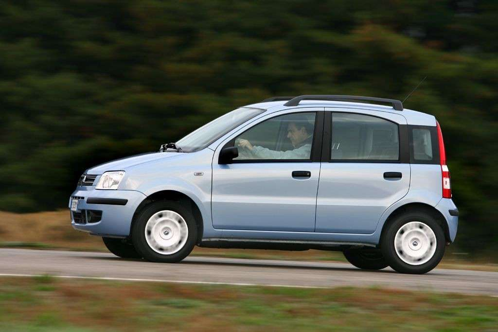 Fiat Panda Classic Natural Power fiancata