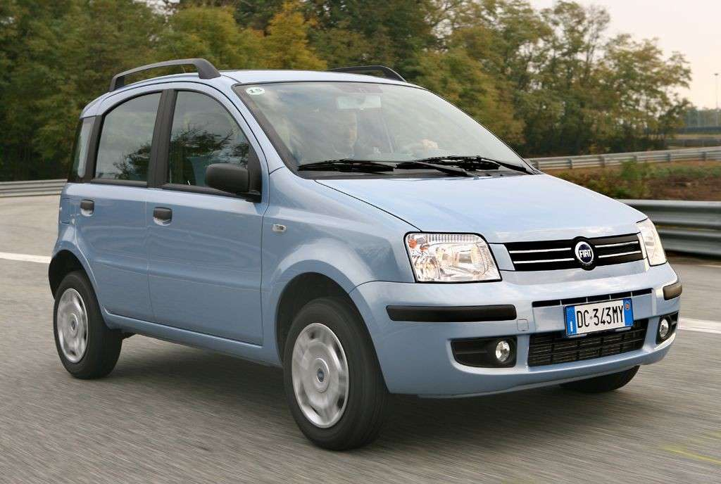 Fiat Panda Classic Natural Power frontale