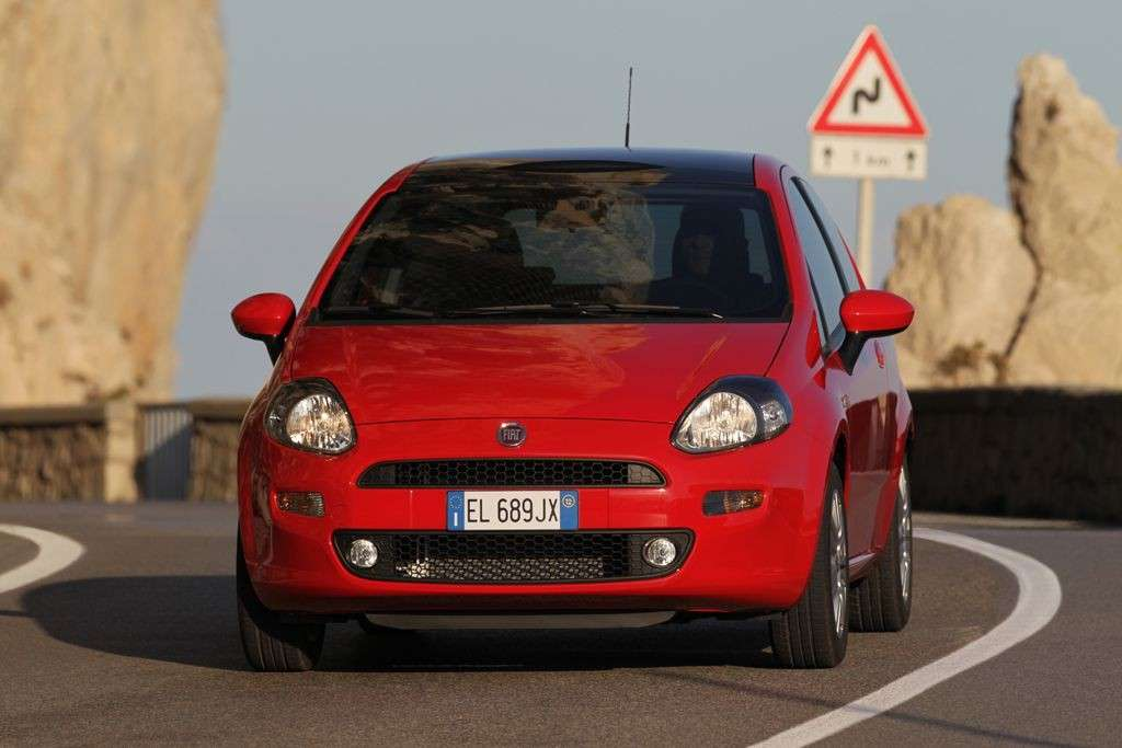 Fiat Punto 2012 Natural Power muso