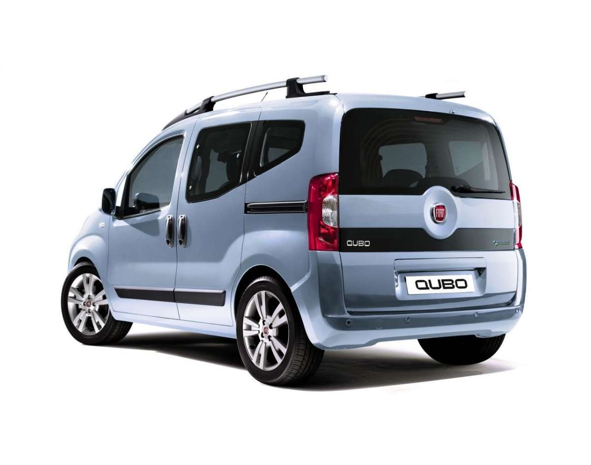 Fiat Qubo Natural Power posteriore