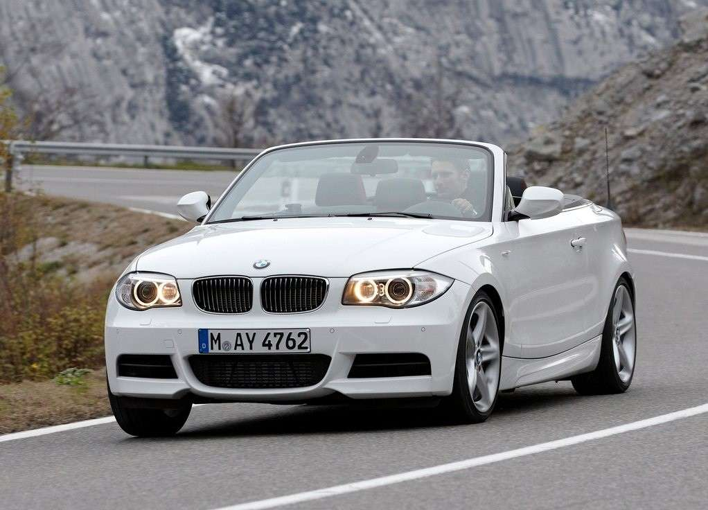 Bmw Serie 1, frontale