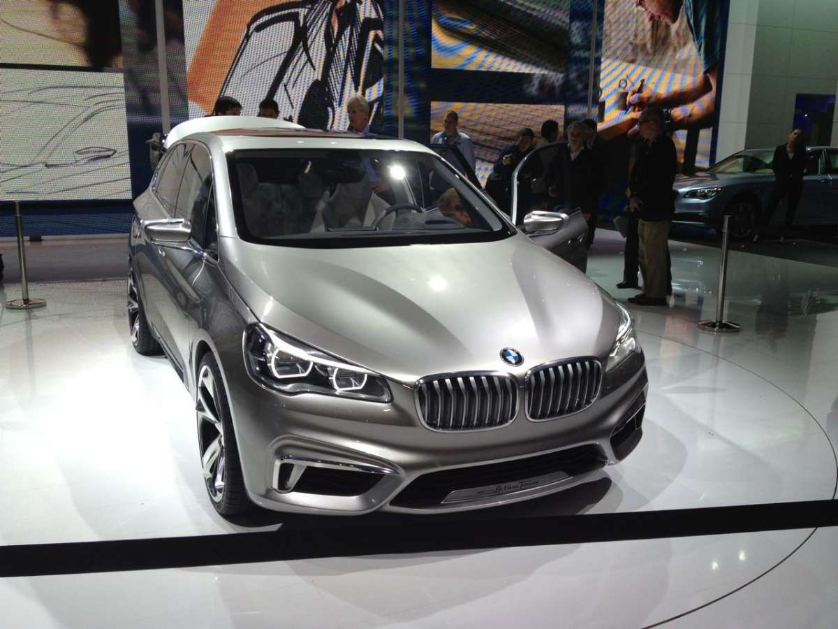 Bmw Active Tourer, Salone di Parigi 2012