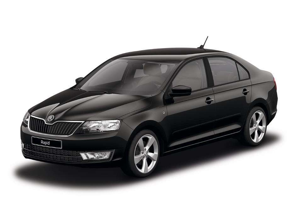Skoda Rapid Black Magic Pearl Effect