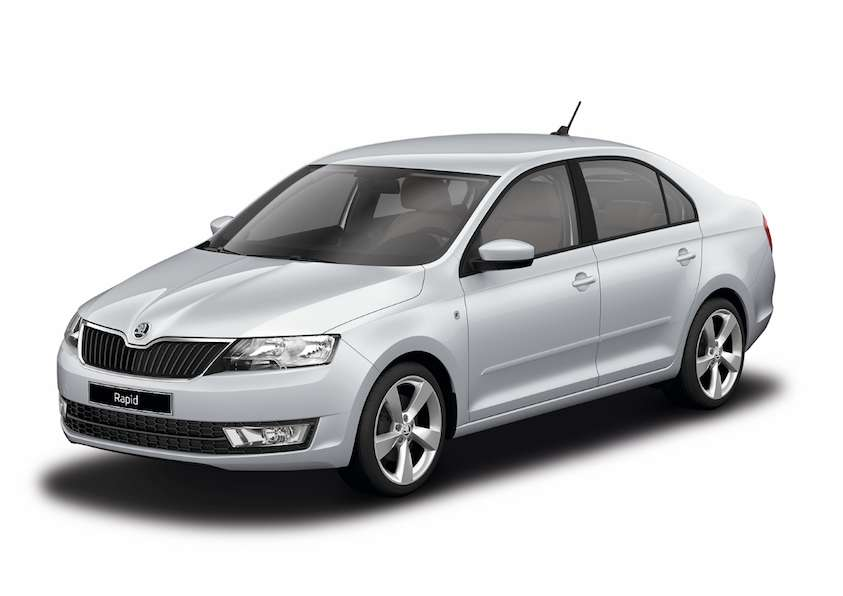 Skoda Rapid Brilliant Silver metallic