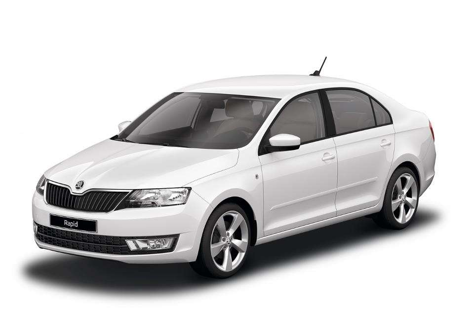Skoda Rapid Candy White uni