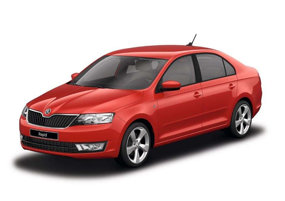 Skoda Rapid Corrida Red uni
