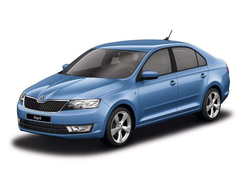 Skoda Rapid Denim Blue metallic