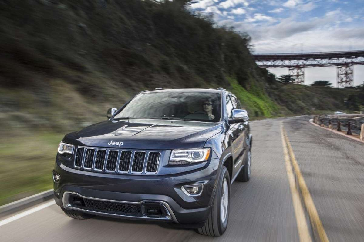 Jeep Grand Cherokee, fari