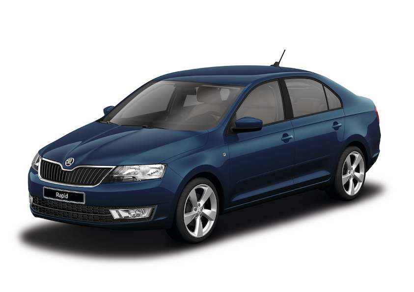 Skoda Rapid Pacific Blue uni