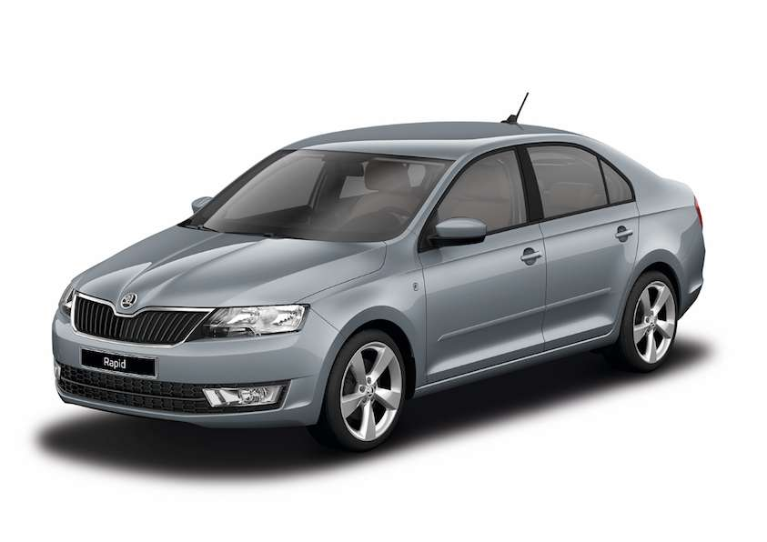 Skoda Rapid Platin Grey metallic