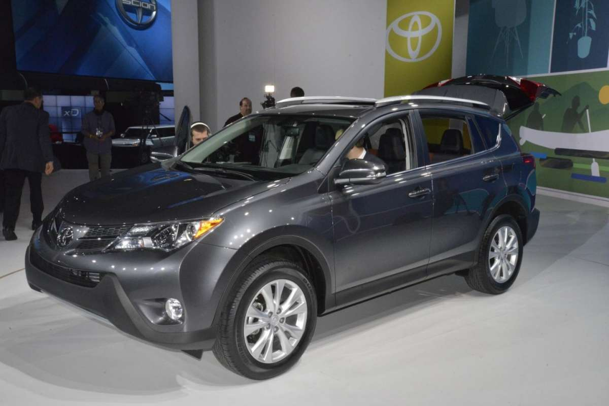 Toyota Rav4 2013, Salone di Los Angeles 2012 - 01