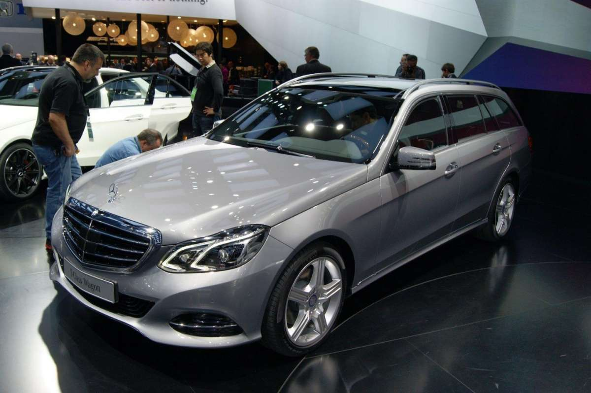 Mercedes Classe E 2013 Station Wagon frontale
