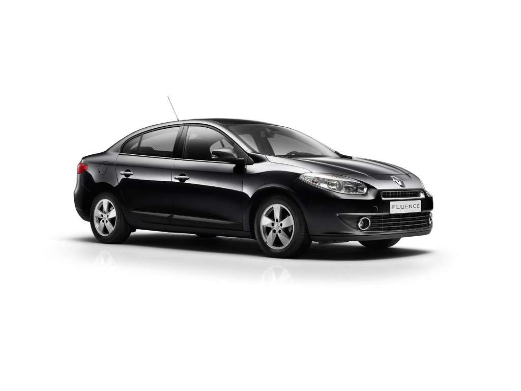 Renault Fluence frontale