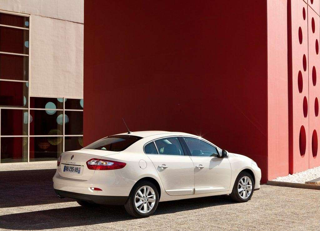 Renault Fluence posteriore