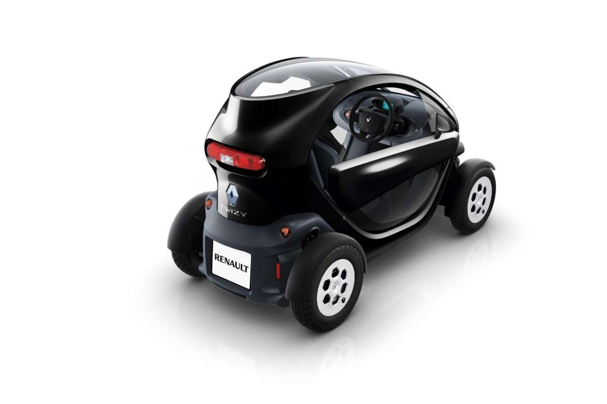 Renault Twizy posteriore