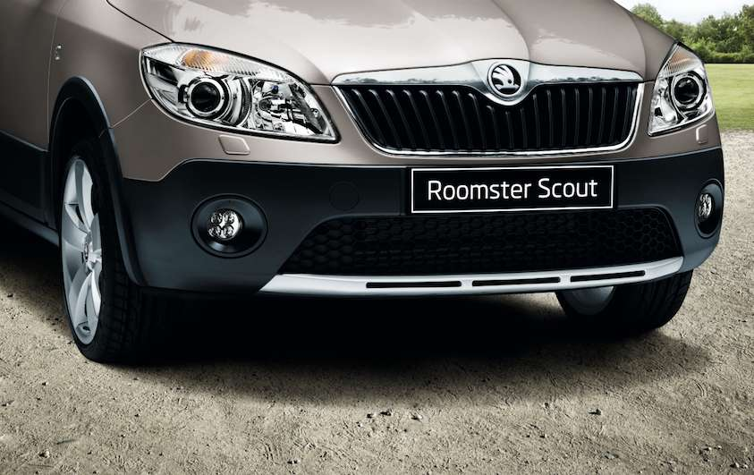 Skoda Roomster Scout 2013, foto