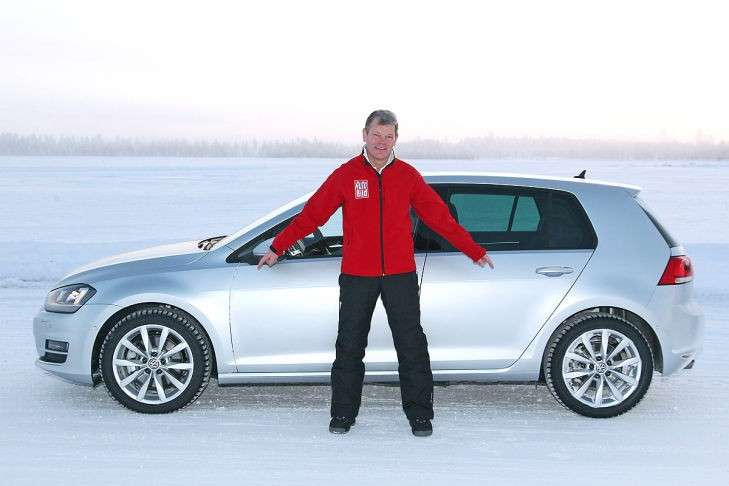 Volkswagen Golf 7 2013 4Motion laterale