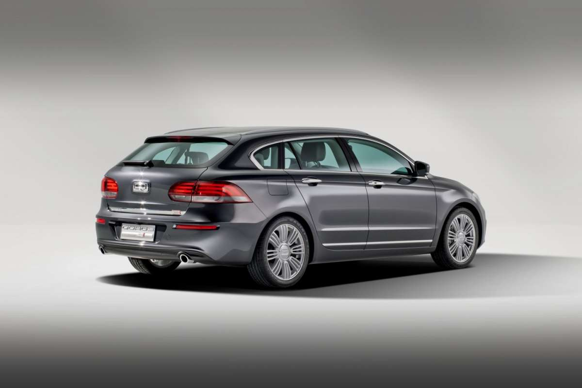Qoros 3 Estate Concept coda
