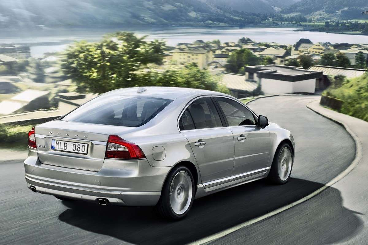 Volvo S80 2013 restyling posteriore