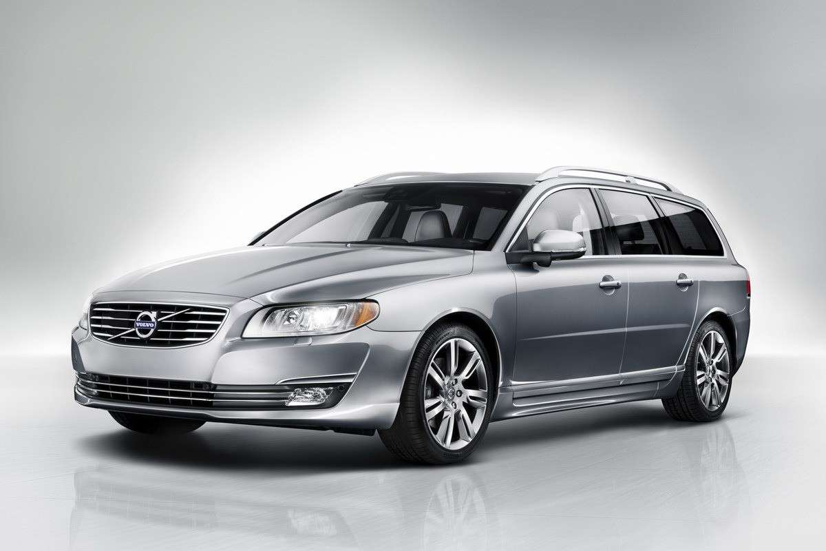 Volvo V70 2013 restyling frontale