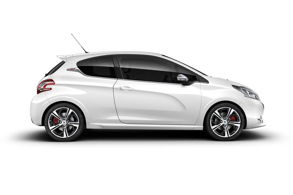 Peugeot 208 GTi laterale