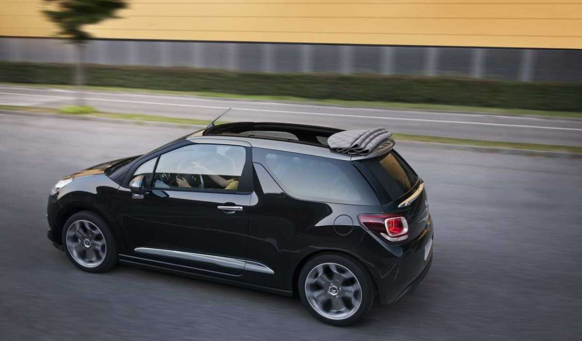 Citroen DS3 Cabrio laterale