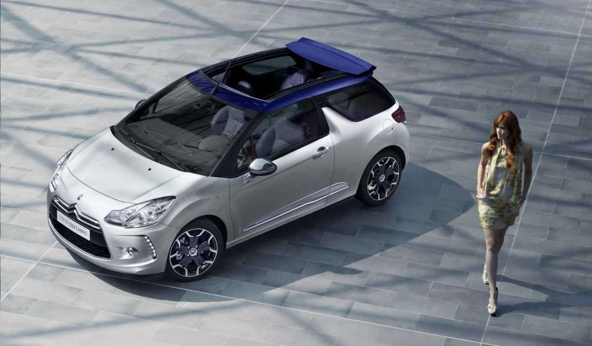 Citroen DS3 Cabrio tetto