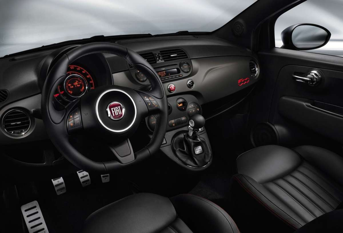 Fiat 500 GQ interni