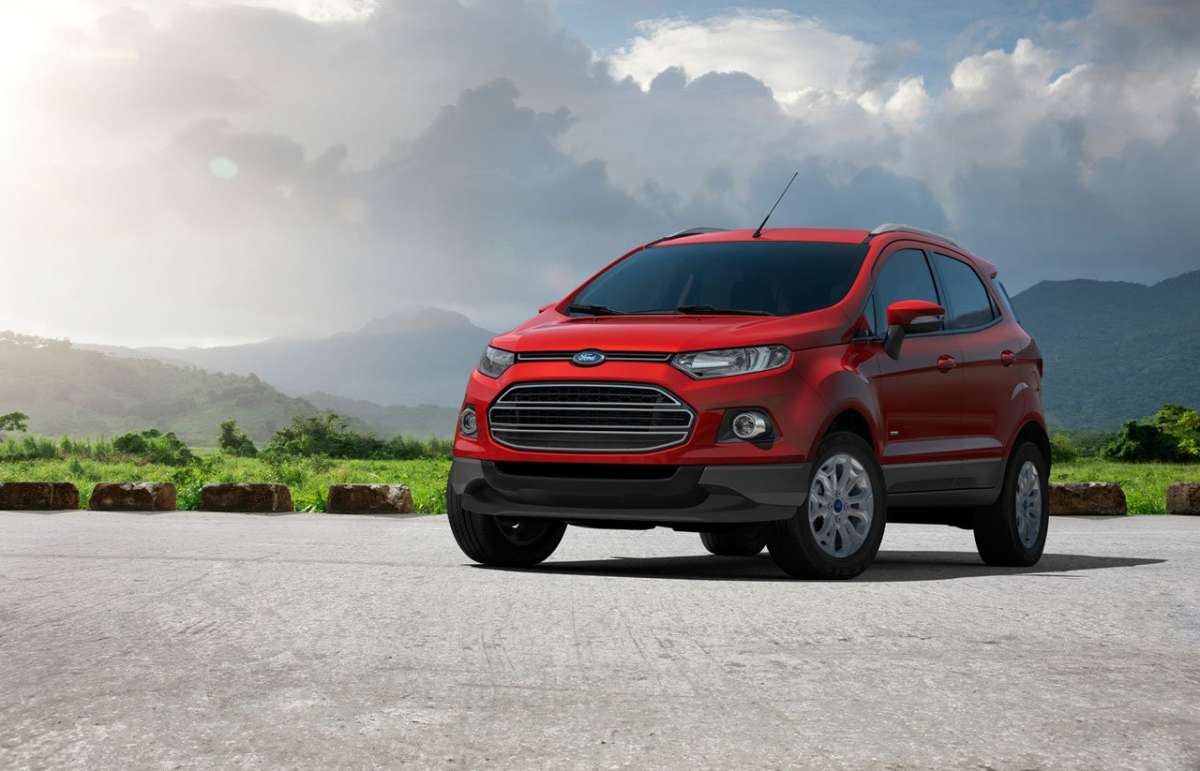 Ford EcoSport frontale 2