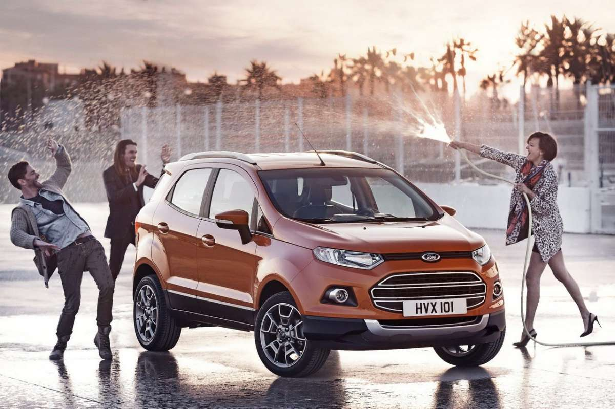 Ford EcoSport frontale