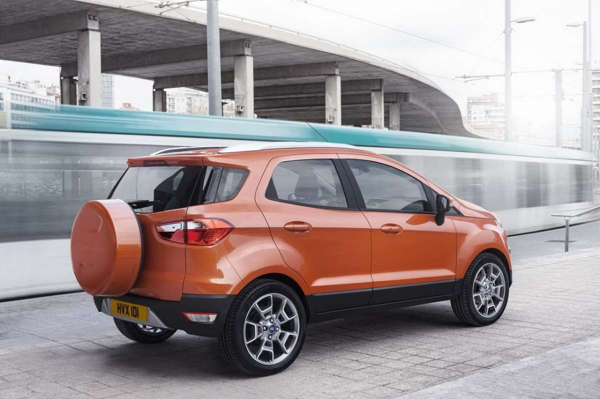 Ford EcoSport laterale 2