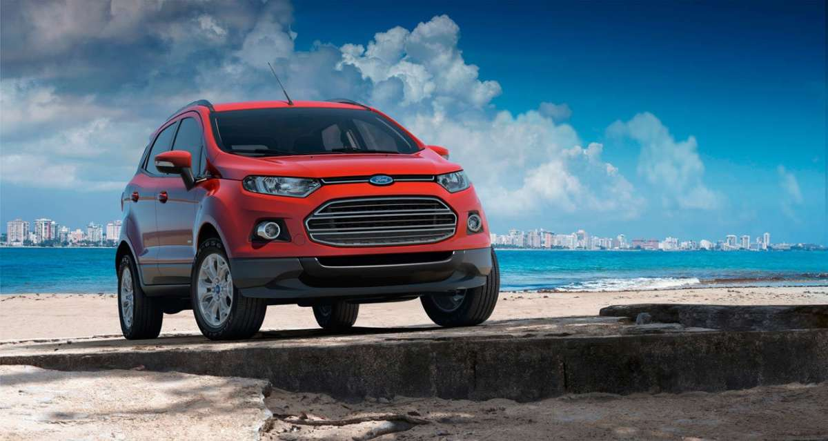Ford EcoSport frontale 3